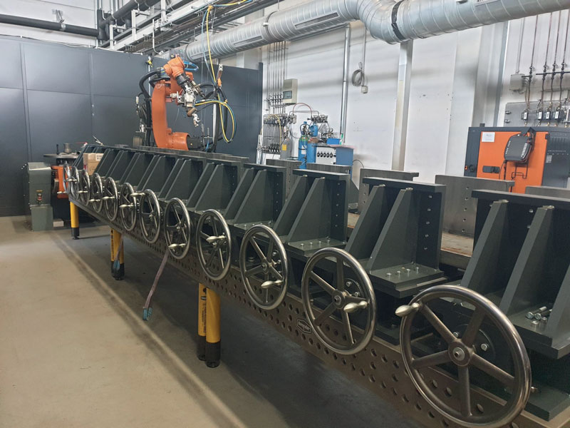 4. Un'immagine dell'impianto laser di SLV Rostock. ©SLV Rostock