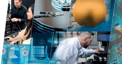 Testa scanner a tre assi per lavorazioni laser 3D di micromachining