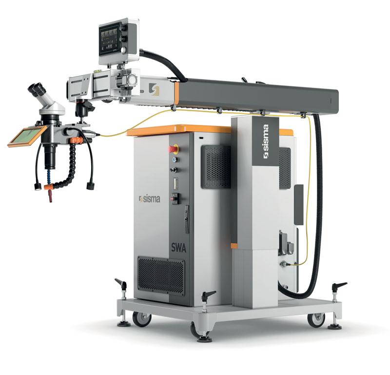 SWA è alimentato da una sorgente laser di nuova generazione che offre una maggiore efficienza energetica e permette di raggiungere una produttività elevata.