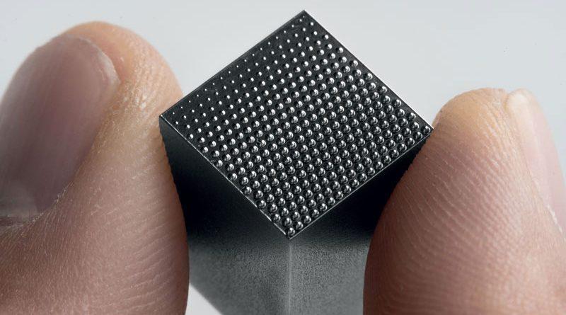 2. Microstrutture realizzate da Microrelleus su un inserto di uno stampo per l'industria dell'illuminazione. (©Microrelleus)