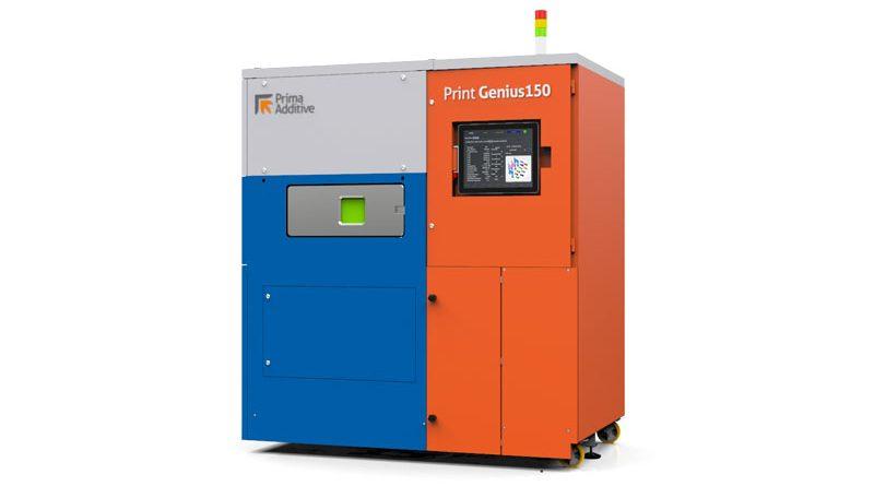 Altra soluzione esposta nello stand Prima Additive è la Print Genius 250.