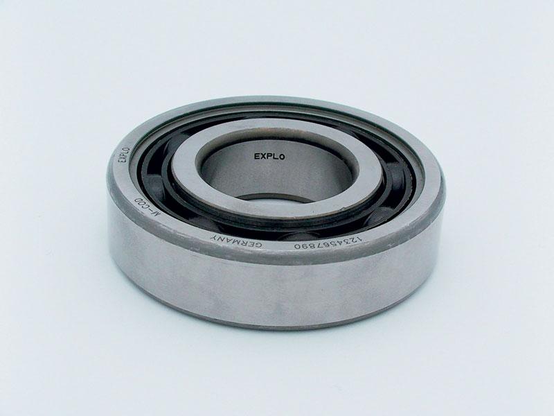 SIC MARKING ha realizzato un sistema per la marcatura laser di un codice alfanumerico e Data Matrix sui cuscinetti in acciaio con diametri da 150 a 600 mm.