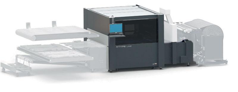 X-Type Conveyor è il più veloce sistema laser professionale per il taglio di tessuti naturali e tecnici in rotolo anche colorati e stampati con una larghezza massima di 1.600 mm.