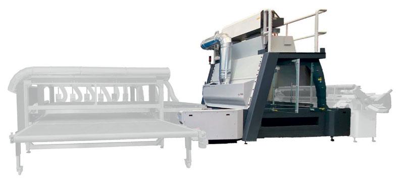 Tra i sistemi galvanometrici a conveyor della gamma SEI, Matrix Textile è quello in grado di effettuare lavorazioni ad alta velocità, sia in statico che a ciclo continuo con materiale in movimento.