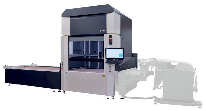 Flexi 1300 Conveyor rappresenta la sintesi dell'esperienza sviluppata da SEI Laser nella lavorazione ad alta velocità di materiale in rotolo con tecnologia laser.