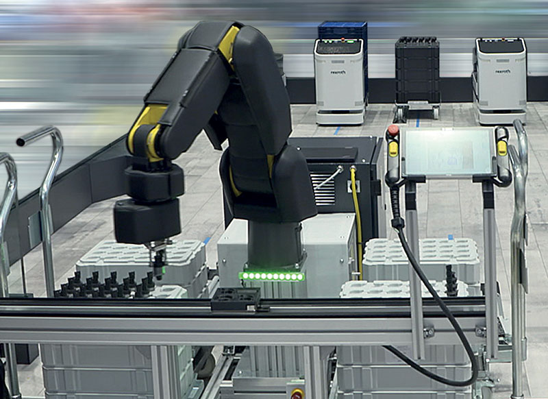 APAS can perform repetitive or ergonomically unfavorable activities autonomously and with high precision.