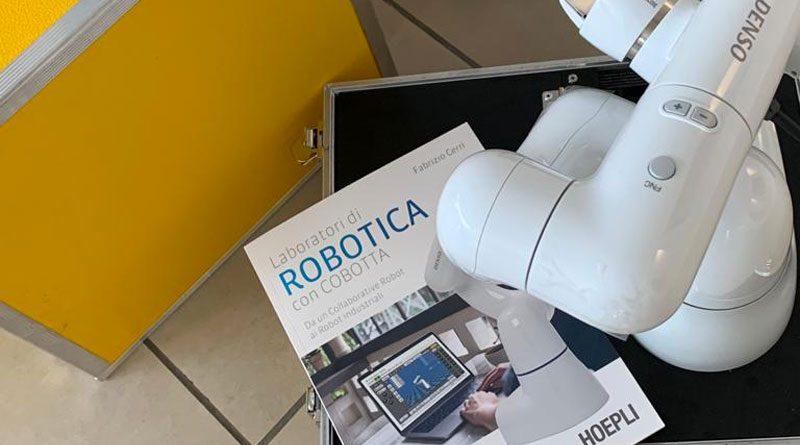 KLAINrobotics ha collaborato alla redazione di un libro scolastico dedicato alla robotica