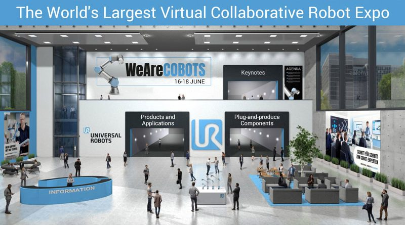 La fiera virtuale WeAreCOBOTS si terrà dal 16 al 18 giugno