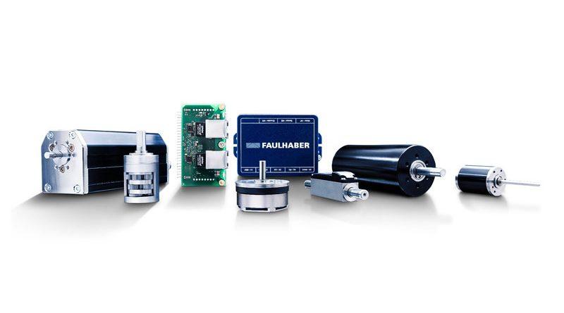I micromotori DC di FAULHABER serie 1524SR e 2224SR sono ideali per le applicazioni in campo medicale e per l'automazione di laboratorio.