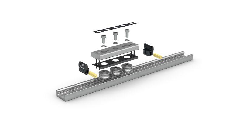 Compact Rail Plus offre grande affidabilità in ambienti sporchi, resistenza alla corrosione e lunga durata.