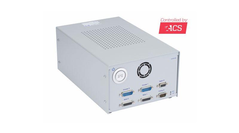 Il modello G-910.RC02 è dotato del controllore di movimento ACS SPiiPlusEC e di un master EtherCAT