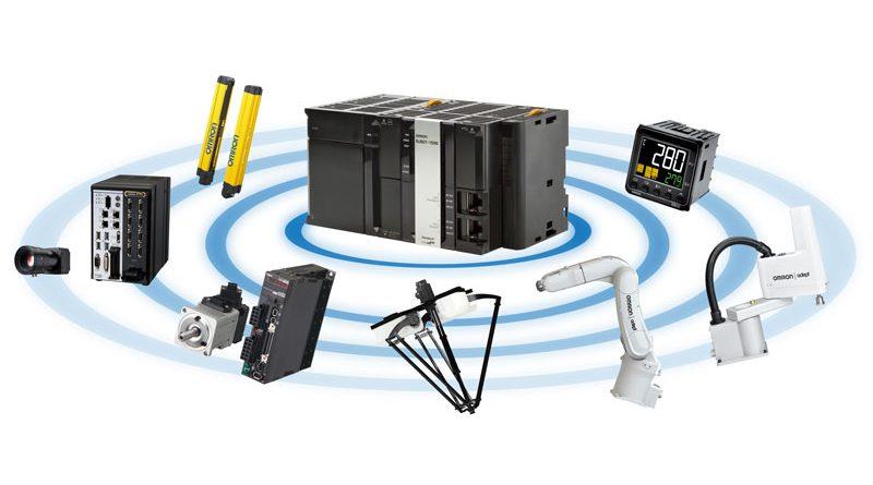 Controllore robotico integrato in grado di sincronizzare alla perfezione i robot e le apparecchiature di controllo.