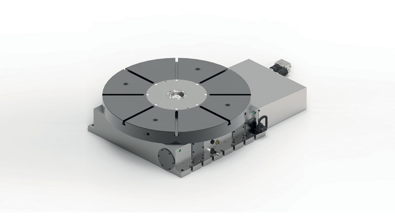 SAUTER RT Mill rotary table series is designed for high-precision positioning of large masses.