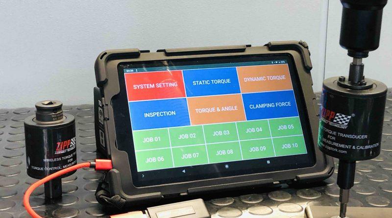ZippTork è in grado di archiviare e recuperare informazioni come lo stato di potenza, la qualità del segnale, la coppia e l'angolo.