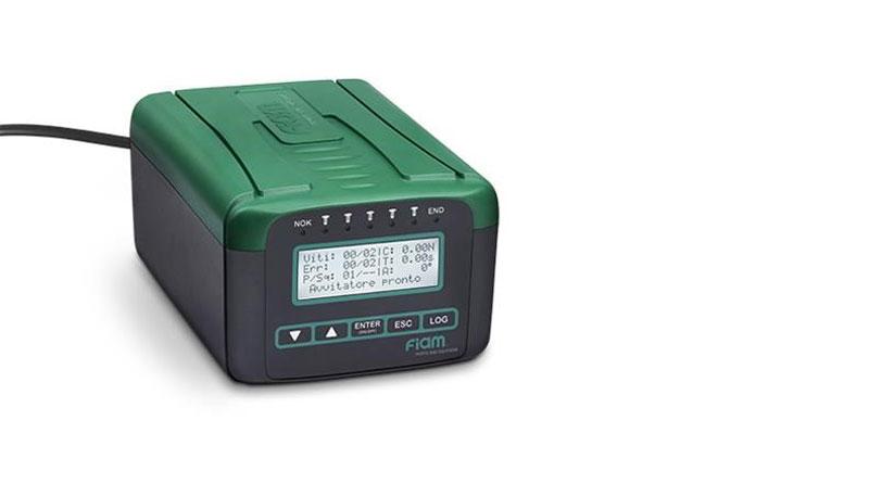 TPU C1 e TPU C3 sono unità di alimentazione e controllo di Fiam da abbinare alle soluzioni elettriche di avvitatura eTensil.