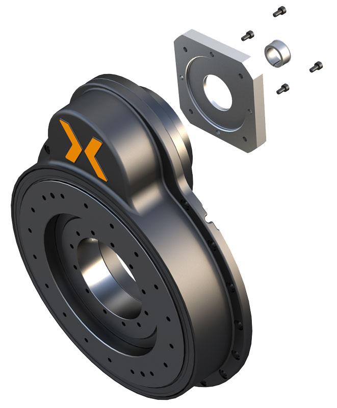 La serie CRD MR è disponibile in tre dimensioni: 150, 250 e 350 mm.