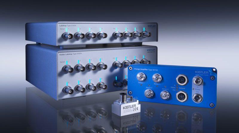 Kistler presenta la nuova serie 5074B di amplificatori di carica digitale.