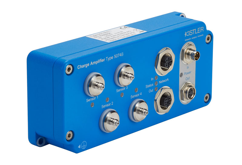 The advantages of the 5074B series are: separate M8 connectors and readiness for use in just 6 seconds.
