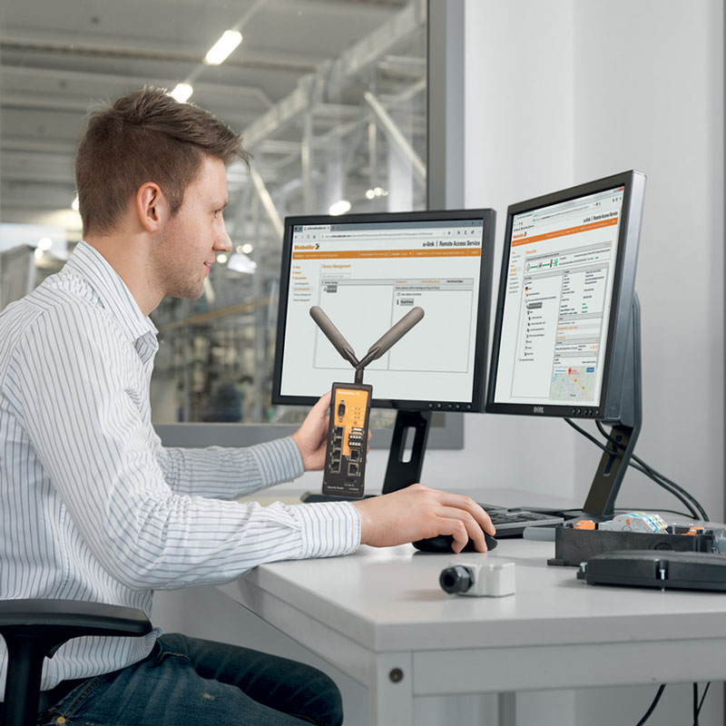 The administration of the entire system is extremely clear and can be carried out by the users themselves without the need for in-depth IT expertise.