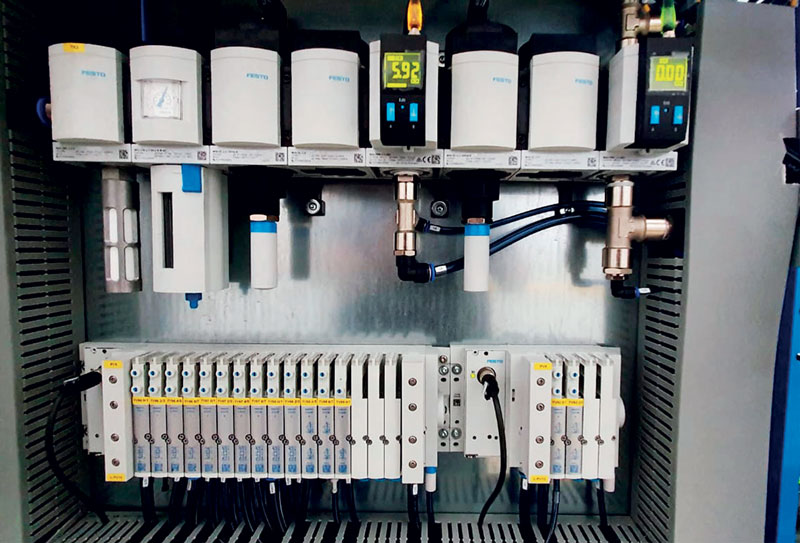 For more than twenty years, Stecam and Festo have been working together, growing step by step with the times, evaluating together both pneumatic and electrical solutions.
