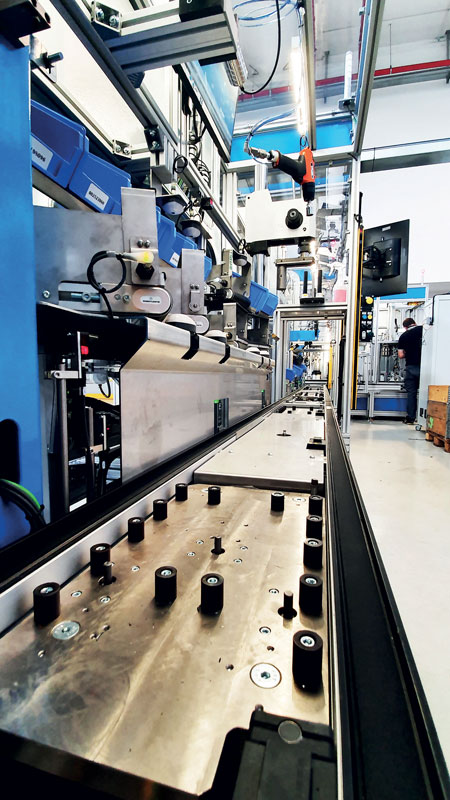 Safety is a priority and the collaboration between Stecam and Festo manages to guarantee it and make it optimal.