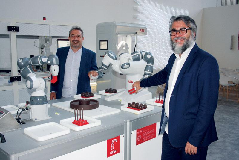 Carlo Del Grande, managing director of BDG (right) and Lorenzo Barison, CEO of BAI.