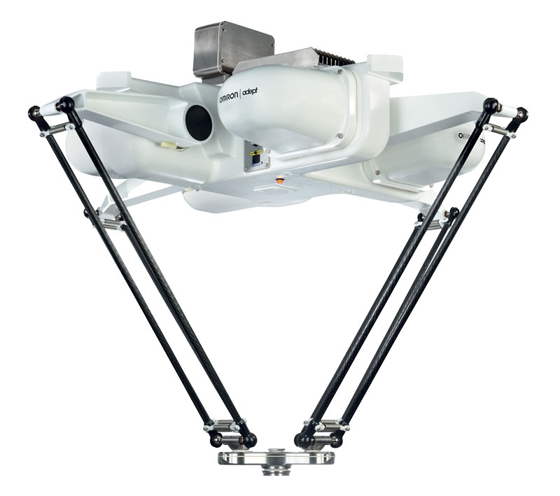The low-maintenance parallel robot is an overhead assembly solution that maximises access and reduces floor space.