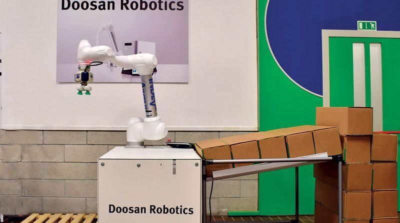 Cobot Doosan serie H proposti da INDEVA Cobotics