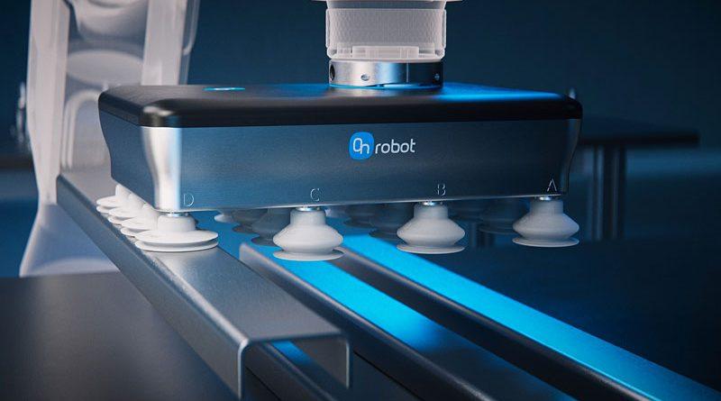 La pinza a vuoto elettrica VGP20 di OnRobot può gestire carichi utili di 20 kg.