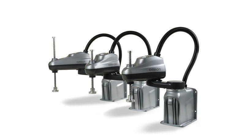 Il nuovo SCARA modello i4L di OMRON è ideale per impieghi leggeri.