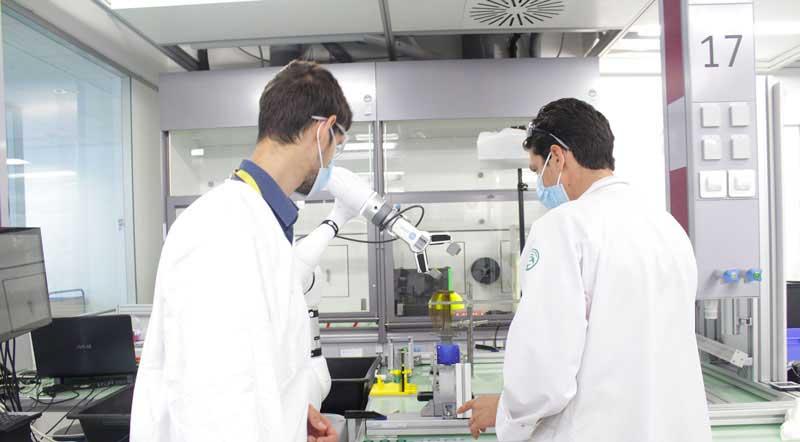 L'Oréal ha scelto le soluzioni collaborative di OnRobot per il suo centro di ricerca a Saint-Ouen.