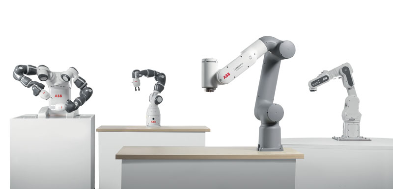 ABB presented the new GoFa and SWIFTI cobot families, which join the YuMi range.