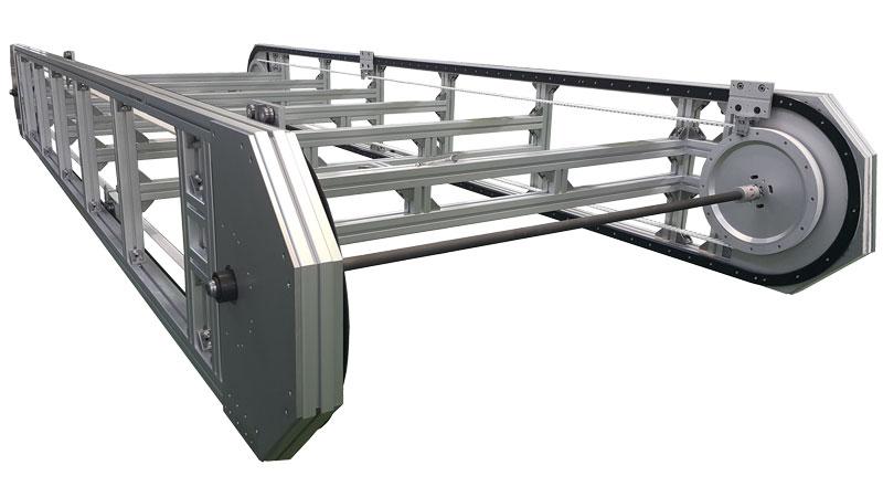 DTS+ può gestire carichi fino a 400 N e velocità fino a 1,5 m/s.
