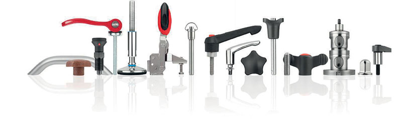 HEINRICH KIPP WERK offers a wide selection of spring pressers, positioning pins and tackers.