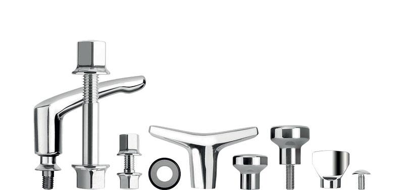 NOVOnox Hygienic sono componenti di tenuta e collegamento igienico, privi di angoli ciechi.