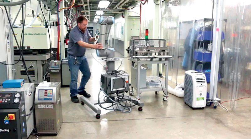 I robot collaborativi possono automatizzare quasi ogni processo produttivo, nei limiti della portata e del reach. ©Universal Robots