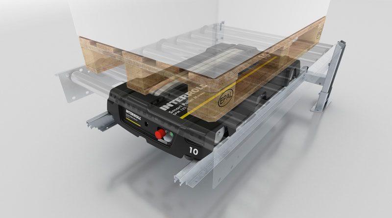 Lo Smart Pallet Mover di Interroll è una soluzione di movimentazione che risponde alle richieste di Industria 4.0.