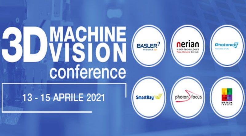 Il 13 e il 15 aprile si terrà la 3D Machine Vision Conference organizzata da Advanced Technologies.