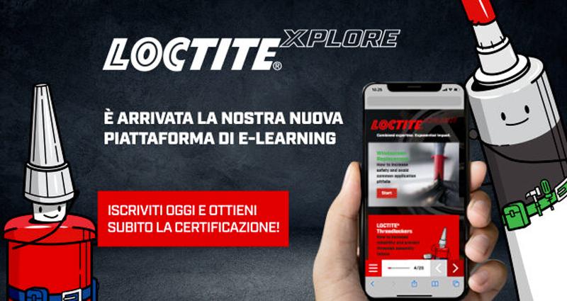 È online la nuova piattaforma e-learning LOCTITE®XPLORE di Henkel.