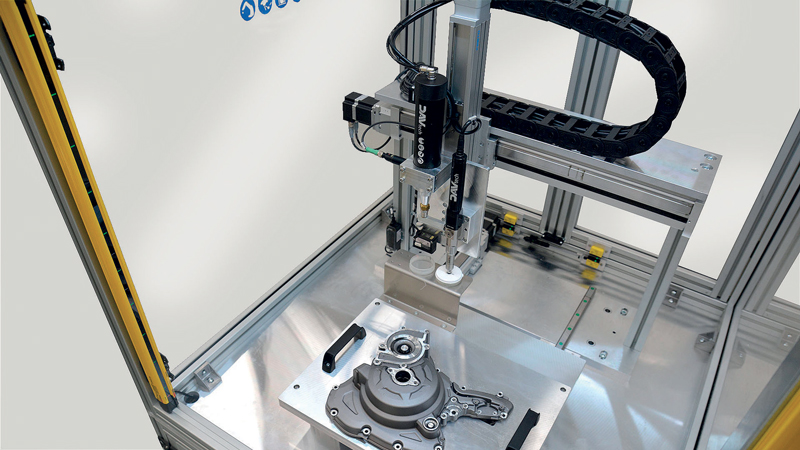 DAV Tech deals with fluid micro-dosing applications within industrial assembly processes.