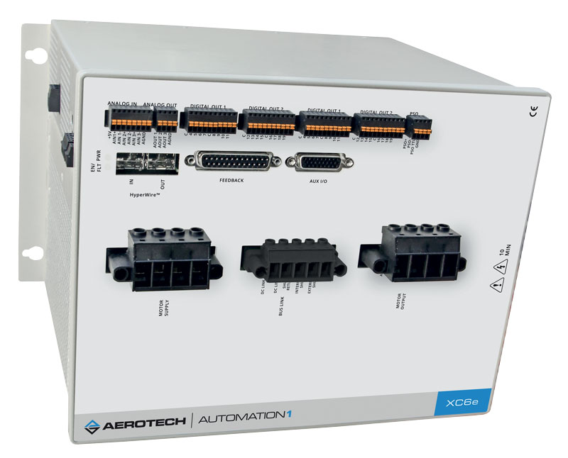 Automation1 Studio's machine configuration wizard is compatible with XC2e, XC6e, XL5e, SI4 and XL4s drive hardware.