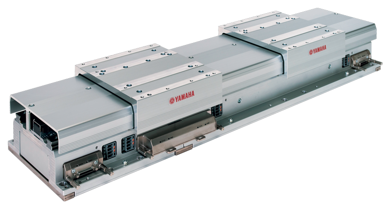 Il modulo trasportatore lineare LCMR200 offre flessibilità programmabile per il trasporto dei pezzi.