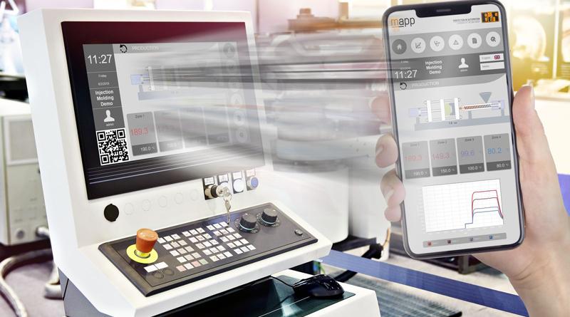 Gli operatori possono ora trasferire il controllo della macchina dall'HMI principale al proprio dispositivo mobile e spostasi liberamente all'interno dell'impianto mentre continuano a lavorare.