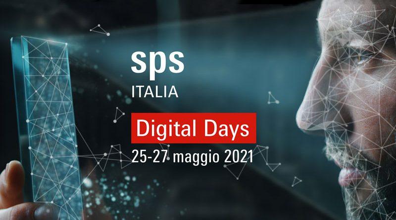 Gli SPS Italia Digital Days si terranno dal 15 al 27 maggio.