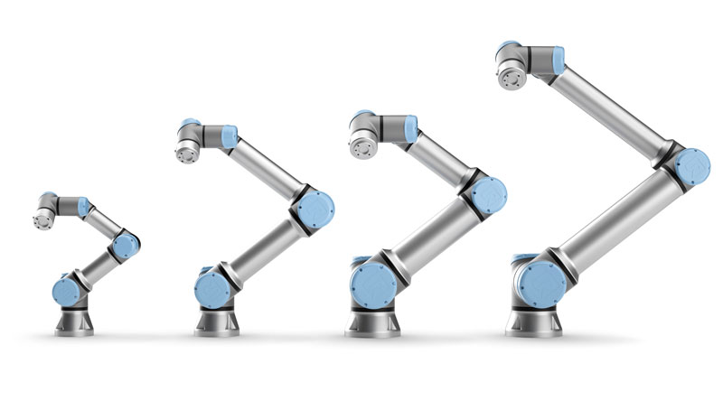 La famiglia di robot collaborativi e-Series targata @Universal Robots A/S è particolarmente performante e flessibile, e può automatizzare diverse operazioni in molti ambienti produttivi