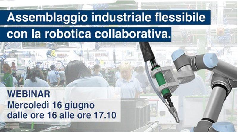 Il 16 giugno si terrà un webinar di FIAM sull'assemblaggio industriale.