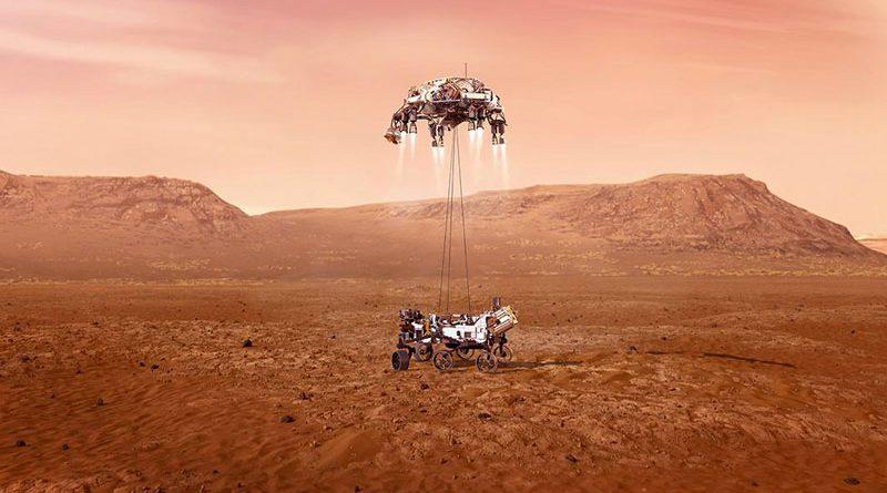 Le viti a rulli satelliti di Ewellix sono atterrate su Marte.