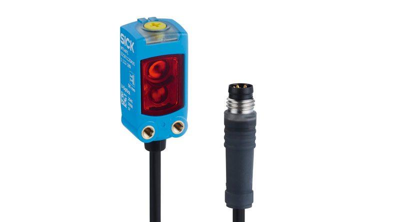 Il sensore fotoelettrico miniaturizzato serie W4F di SICK.