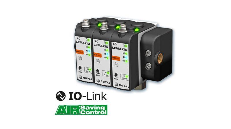Le minipompe per vuoto Coval della serie LEMAX IO sono comunicanti IO-Link.