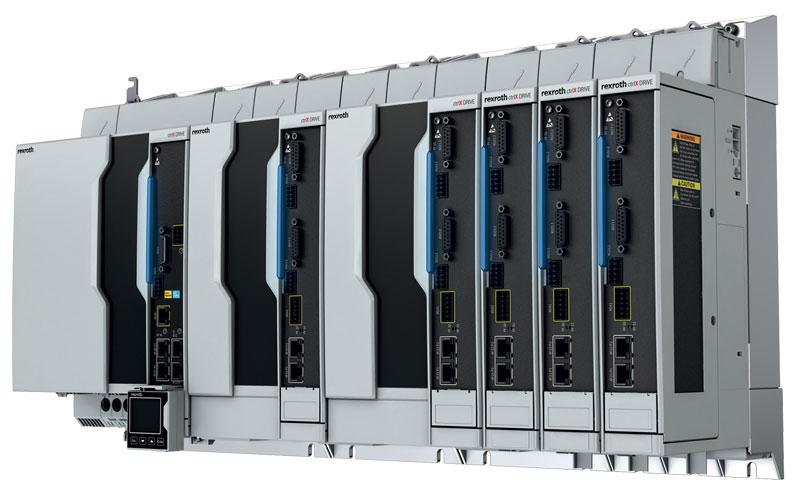 crtlX DRIVE di Bosch Rexroth è un sistema di azionamento modulare compatto, parte della piattaforma ctrlX AUTOMATION.